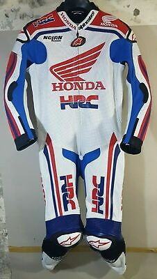 Motorbike Leather Suit Motorcycle Sports Racing Honda CE Armoured Protection