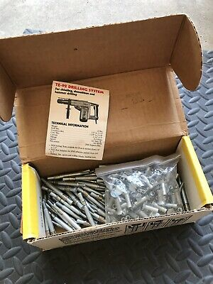 Kwik Bolt 3 Long Thread Carbon Steel Expansion Anchors Hilti 3//4 In x 5-1//2 In