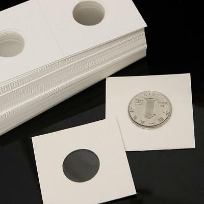50pcs 40mm Assorted Mylar Cardboard Coin Holders Lighthouse Cover Storage