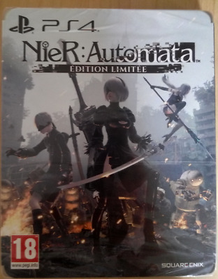 Nier Automata - Limited Edition Steelbook - PS4 FR PAL - MINT Condition Sealed