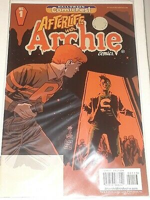 Archie Comics Afterlife With Archie #1 (Halloween Comicfest Exclusive)