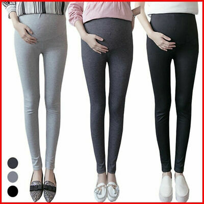 Pregnant Women High Waist Slim Leggings Pregnancy Pants Maternity Pants