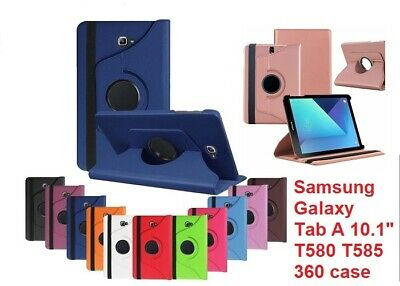 360 Rotating Leather Case Stand Cover for Samsung Galaxy Tab A6 10.1 T580 T585