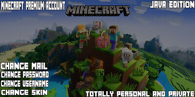 Minecraft Premium Account | Fast Delivery | Change All | Full Access | Java |