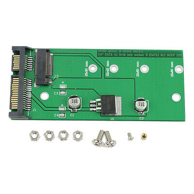 SATA To M2 NGFF SSD Converter Adapter Card M.2 To SATA 3 III Connector Accessory