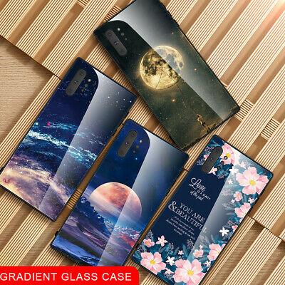 Hard Back Tempered Glass Housing Case Cover For Samsung Galaxy Note 10/10+ 5G