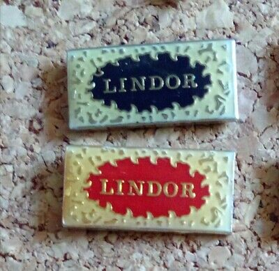 pin's pins Chocolat Lindt Lindor 2 pin's (lot 1)