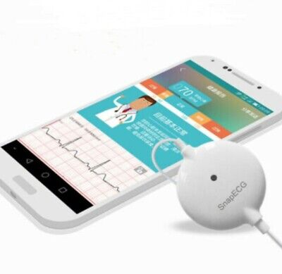 Portable Wearable ECG Holter Monitor Measurement Real Time Arrhythmia Detection