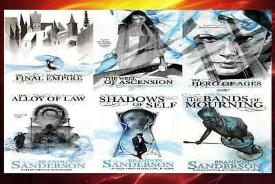 Mistborn Series Complete AudioBooks Collection