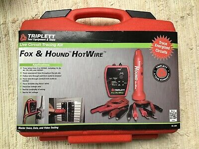 Triplett Fox & Hound HotWire 3388 Electric Live Circuit Tracing Kit Electrical