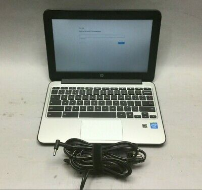 "HP Chromebook 11 G3 11.6"" Laptop Intel Celeron Dual Core 2.16GHz 2GB 16GB"