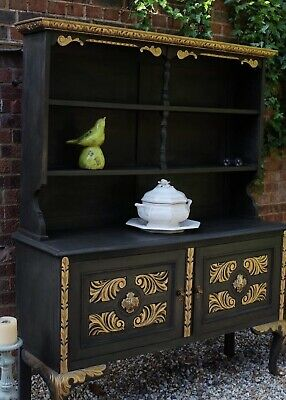 Beautiful Antique welsh dresser Hand Painted