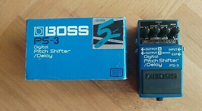 BOSS PS3 pitch shifter / delay vintage discontiuned rare