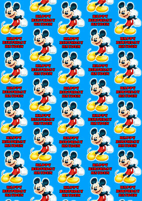 Mickey Mouse wrapping paper 3 x 2 meter