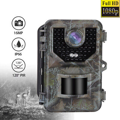 E2 16MP HD 1080P Hunting Trail Camera Night Vision Scouting Wildlife Game Camera