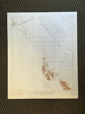 Vintage USGS Kim Arizona 1931 Topographic Map 1947