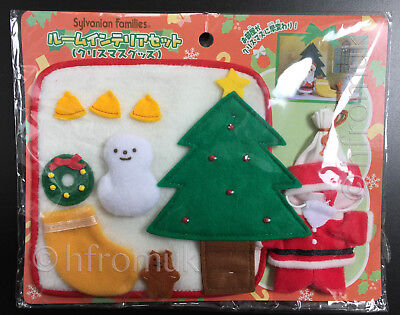 Sylvanian Families Calico Critters Christmas Tree Santa Outfit Japan Excl.Snow