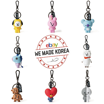 BT21 Figure Key Ring Key Chain Bag Pendant Keyring Keychain Authentic Goods