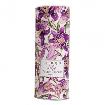 Fleurique WildFlower Talcum Powder 250g Classic Rose Fragrance Body Talc Perfume
