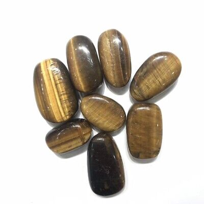 1KG Bulk wholesale natural tiger eye tumble healing crystals stones