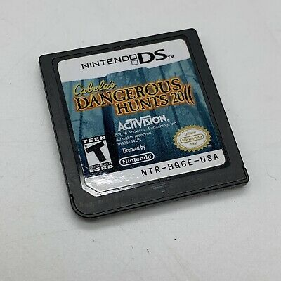 Cabela's Dangerous Hunts 2011 for Nintendo DS Tested & Working Cartridge Only