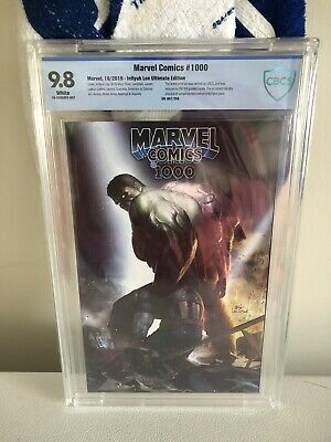 Marvel Comics 1000 InHyuk Lee Ultimate End Game Edition CBCS 9.8 #7 Out Of 250!