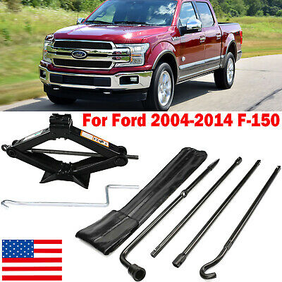 Spare Tire Tools For Ford 2004-2014 F150 Pickup Truck and Scissor Jack w// Handle