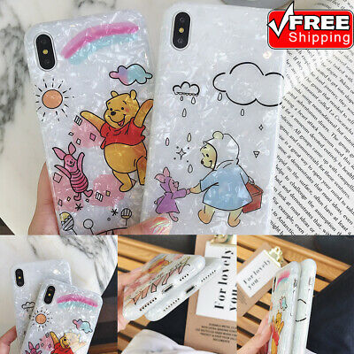 Shell Grain Fashion Cover Shockproof Non-slip Soft TPU Phone Case For iPhone Lot
