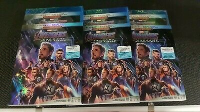 Avengers endgame Blu-ray/Digital Code