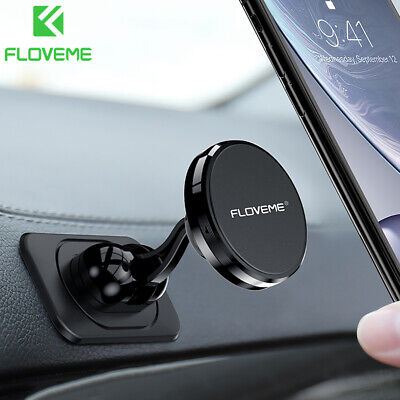360 Magnetic Pendulum Sticky Pad Car Mount Holder Stand For Universal Cell Phone