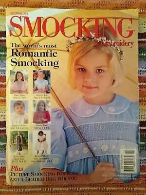 AUSTRALIAN SMOCKING & EMBROIDERY MAGAZINE - ISSUE No 55 - 2001