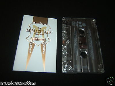Madonna The Immaculate Collection German Cassette Tape