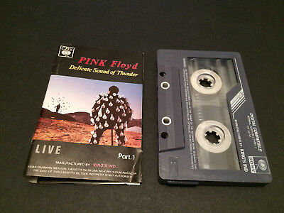 Pink Floyd Live Delicate Sound Of Thunder Part 1 Cassette Tape