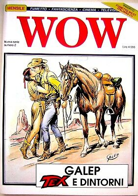WOW n.2 1990 Galep: Tex e dintorni nuovo
