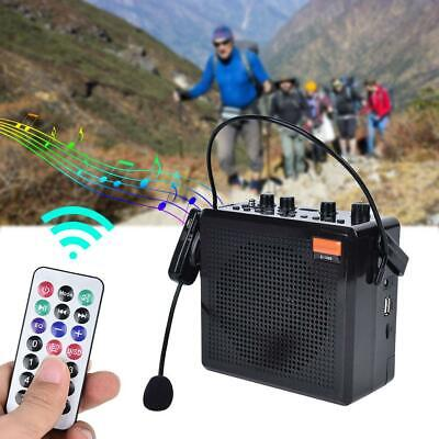Portable Voice Amplifier Booster Wireless Mic Speakers For Teacher Guide