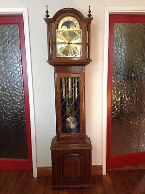 Vintage Triple chime longcase clock by Fenclocks of Suffolk