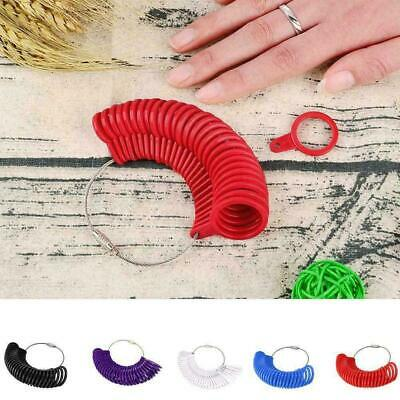 Ring Size Mandrel Stick Finger Gauge Ring Sizer Measuring Jewelry Set Tool A3U0