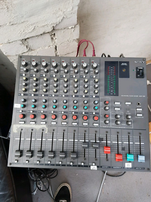 SONY MXP-290 Proffesional Broadcast Audio 8 Channel Mixer