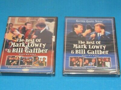 Gaither Gospel Series - THE BEST OF LOWRY AND GAITHER VOLUMES 1 & 2 - DVD Sealed