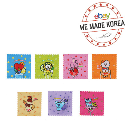 BT21 Character Cool Sitting Cushion Pad 350x350mm 7types Authentic K-POP Goods