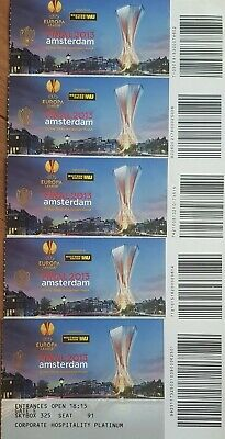2013 SL BENFICA v CHELSEA EUROPA LEAGUE FINAL OFFICIAL UNUSED TICKET MINT