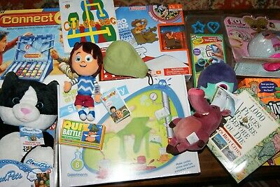 Job Lot 14 BRAND NEW Toys Games JIgsaw FREE UK POSTAGE! Incl Connect 4 Hex Bug