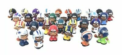Teenymates Set Nfl Figures Of 32 Teams Player Names Series 8 Complete Brand New
