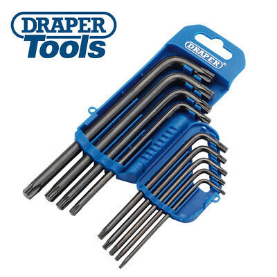 Hex Keys & Wrenches Draper T6 Tx-Star Torx Allen Key with One Ball End 73049 TXTB DIY Tools & Workshop Equipment