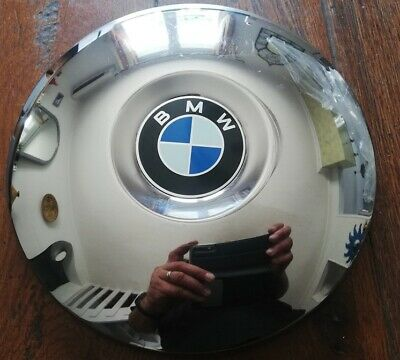 BMW enjoliveur x1 chrome acier inox 100% original radkappe old classic 21,5 cm