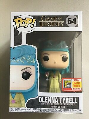 Funko Pop! Game Of Thrones Olenna Tyrell #64 2018 SDCC Official Sticker