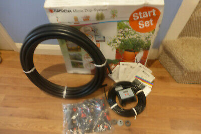 Gardena Micro Drip Automatic Watering Irrigation Kit With Digital Timer