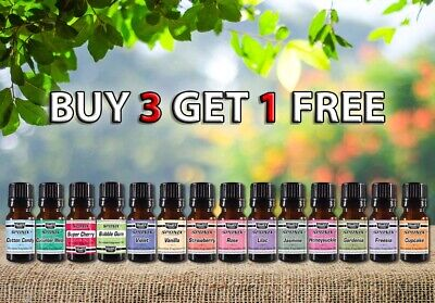 Fragrance Oils 100% Pure Natural Aromatherapy Fragrance Aroma 10ml by Sponix