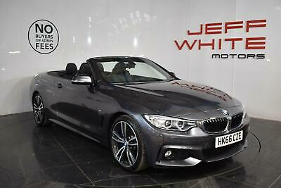 2016 BMW 4 Series 430d M Sport 2dr Convertible Automatic Convertible Diesel Auto