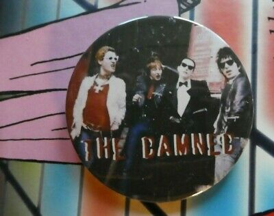 58mm BUTTON BADGE PUNK ROCK THE DAMNED NEW ROSE SMASH IT UP NEAT NEAT NEAT CD 7